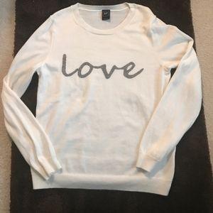"GAP ""Love"" Sweater Top"